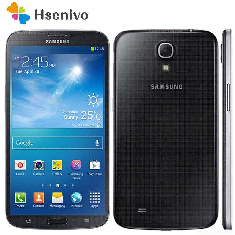 100% Original Unlocked Samsung Galaxy Mega 6.3 I9200 Phone 6.3'inch 1.5GB Ram 8GB Rom 4G LTE 8.0MP 3200mah Battery