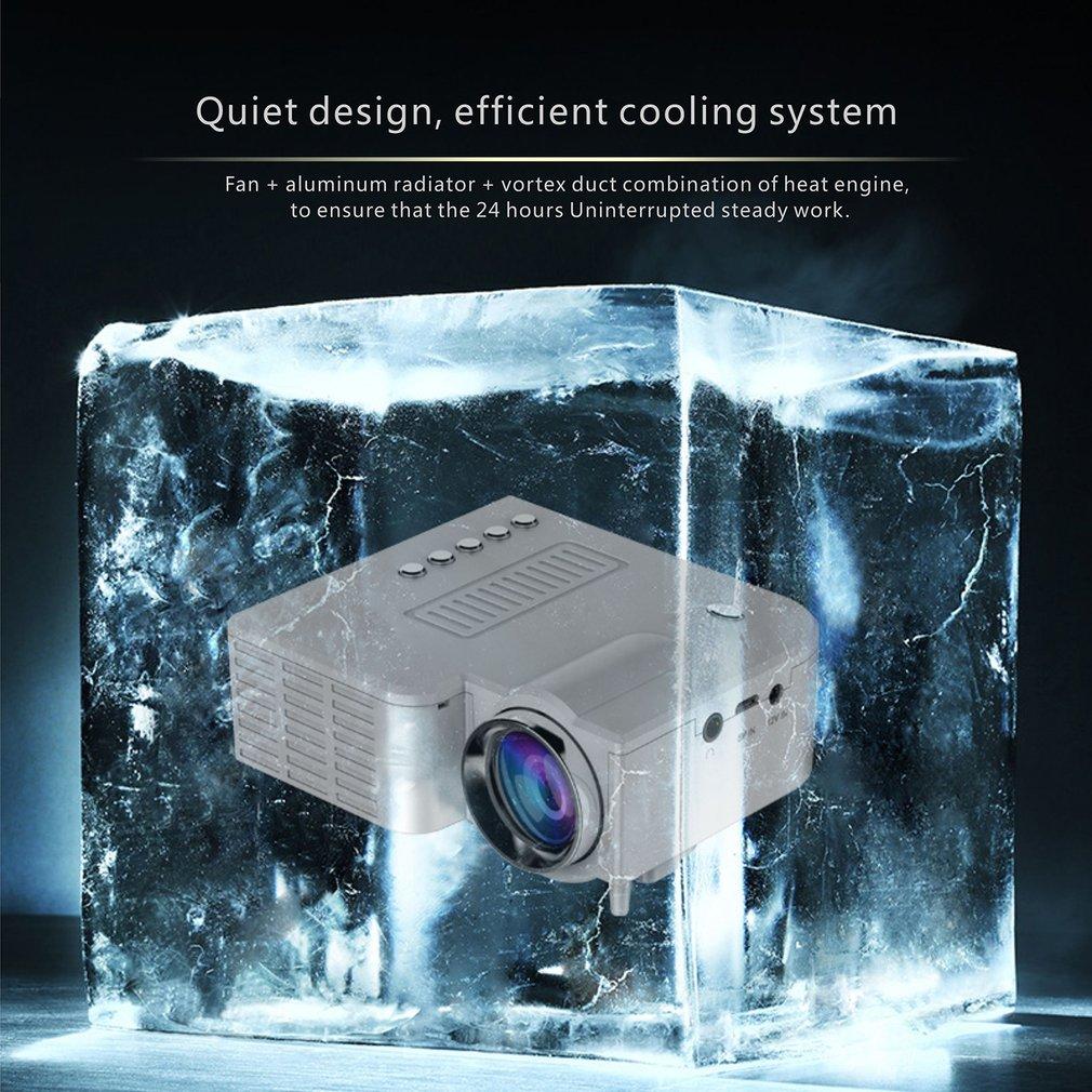 Uc28c + projetor em casa mini miniatura portátil 1080p hd projeção mini projetor led para entretenimento de teatro em casa-2