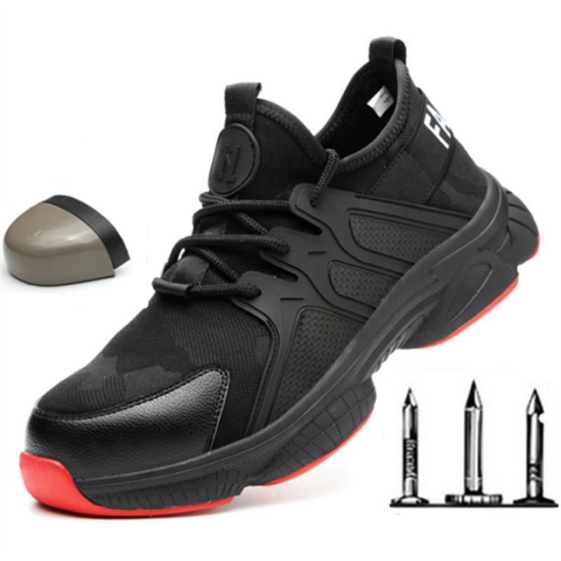 Mesh Breathable Non slip Sneakers Work