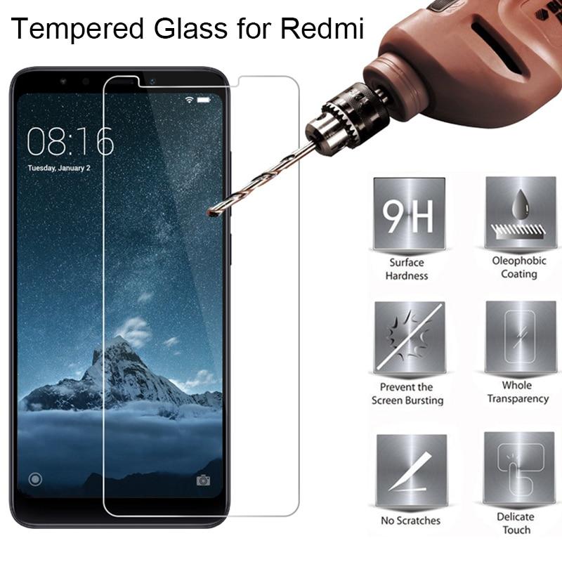 Protective Glass for Xiaomi Redmi 4X 4A 5A 6A S2 Tempered Glass on Redmi 3 3S Screen Protector for Redmi 4 Prime 5 Plus 6 Pro(China)