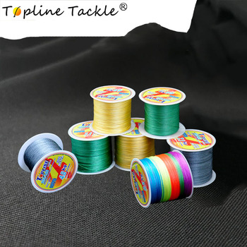TOPLINE TACKLE Multifilament Pe Braided Fishing Line 300m 4 Strands Sinking Strong Braided Pe Line 300m Fishing 0.3mm Diameter 2018 hot fishing line 4 series pe strong horse line 500 m anti bite line fishing line