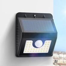 30 LED Solar Light Motion Sensor Night Outdoor Garden Pathway Wall Lamp Drop shipping