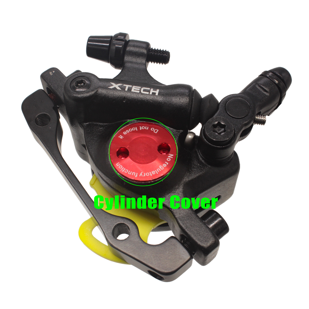 ZOOM XTECH HB100 MTB Line Pulling Hydraulic Disc Brake Calipers with Rotors 13
