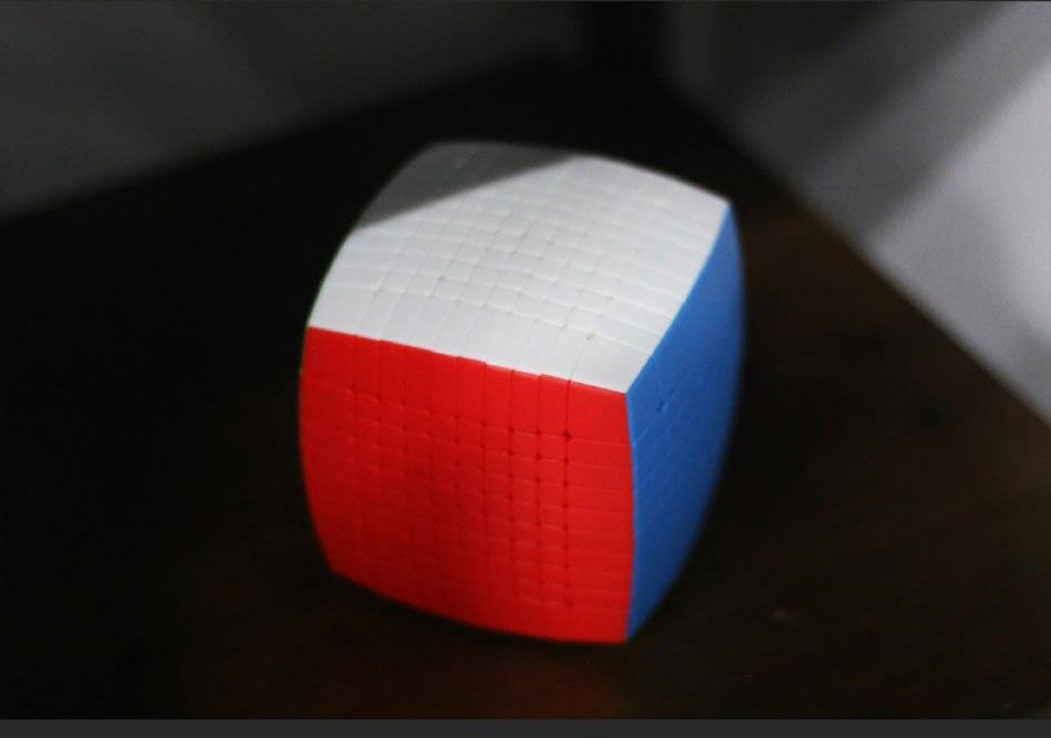 mágico 10x10 stickerless velocidade quebra-cabeça natal presente