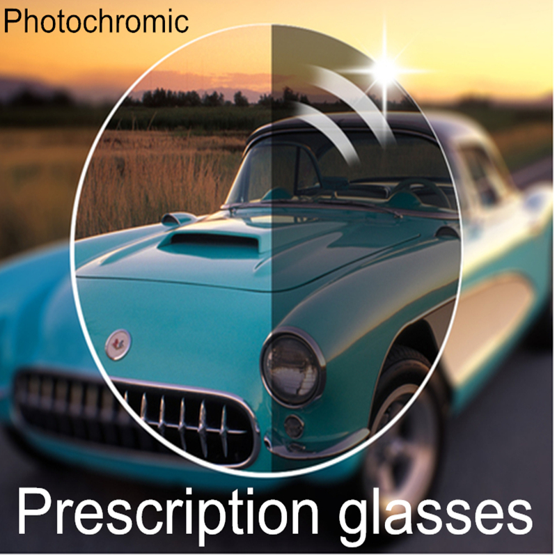 KOTTDO Progressive Glasses Optical Spectacles Lenses with Fast Color Changing Performance photo gray or photo brown