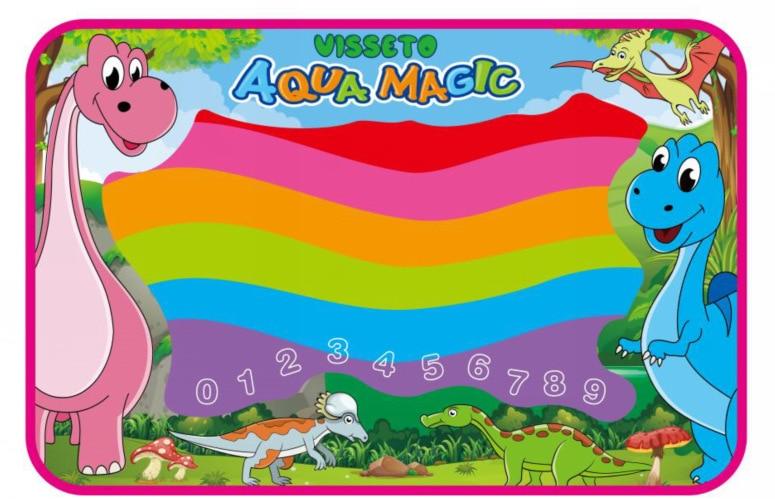 Dinosaur Extra Large Children Magic Water Canvas Color Doing Homework Blanket Graffiti Blanket Customizable Pattern