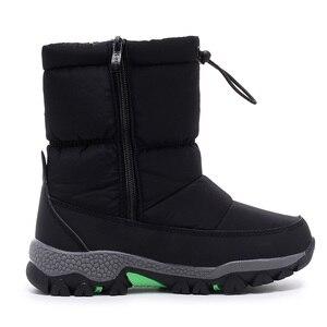 Image 3 - MMnun kışlık botlar erkek çocuk botları 2019 kış çocuk ayakkabıları ayakkabı büyük erkek boyutu 27 37 ML9664