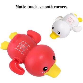 Mainan Clockword Swimming Duck Mengapung 4