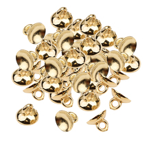 200 Pieces Plastic Half Round Bell Shape Beads Cap Pendant End Caps with Loop Jewelry Making Findings pack of 30 x golden plated brass 5 x 8mm kumihimo bell shape end caps ha03323 charming beads