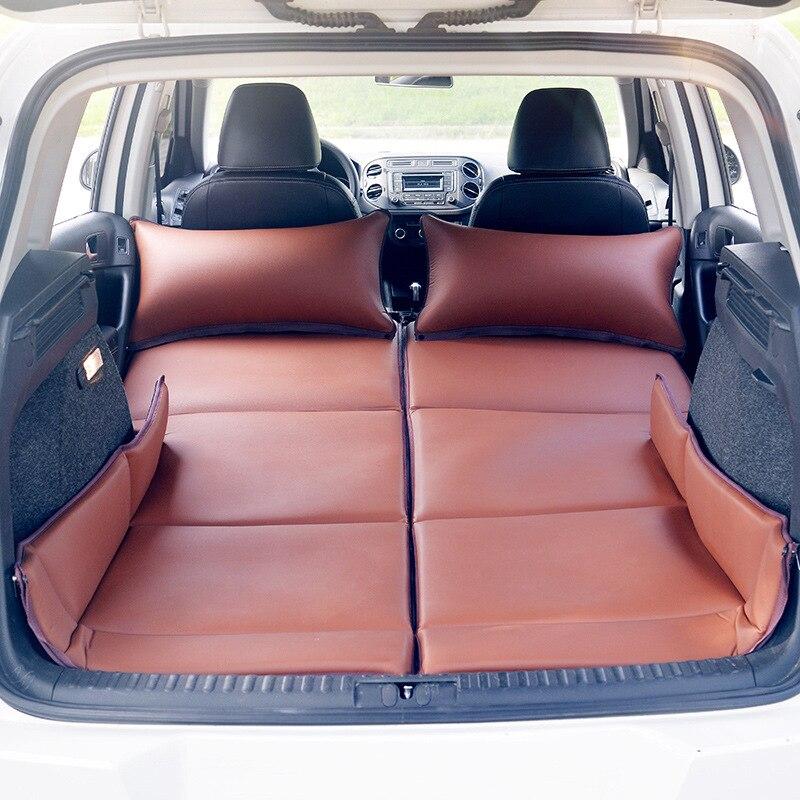 Camurça Caminhão-montado não-inflável dobrável cama de viagem