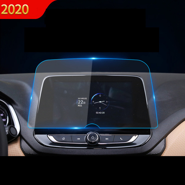 Lsrtw2017 Glass Car Gps Navigation Screen Film Anti Scratch Sticker for Chevrolet Cavalier Onix 2020 2021 Plus Accessories Auto