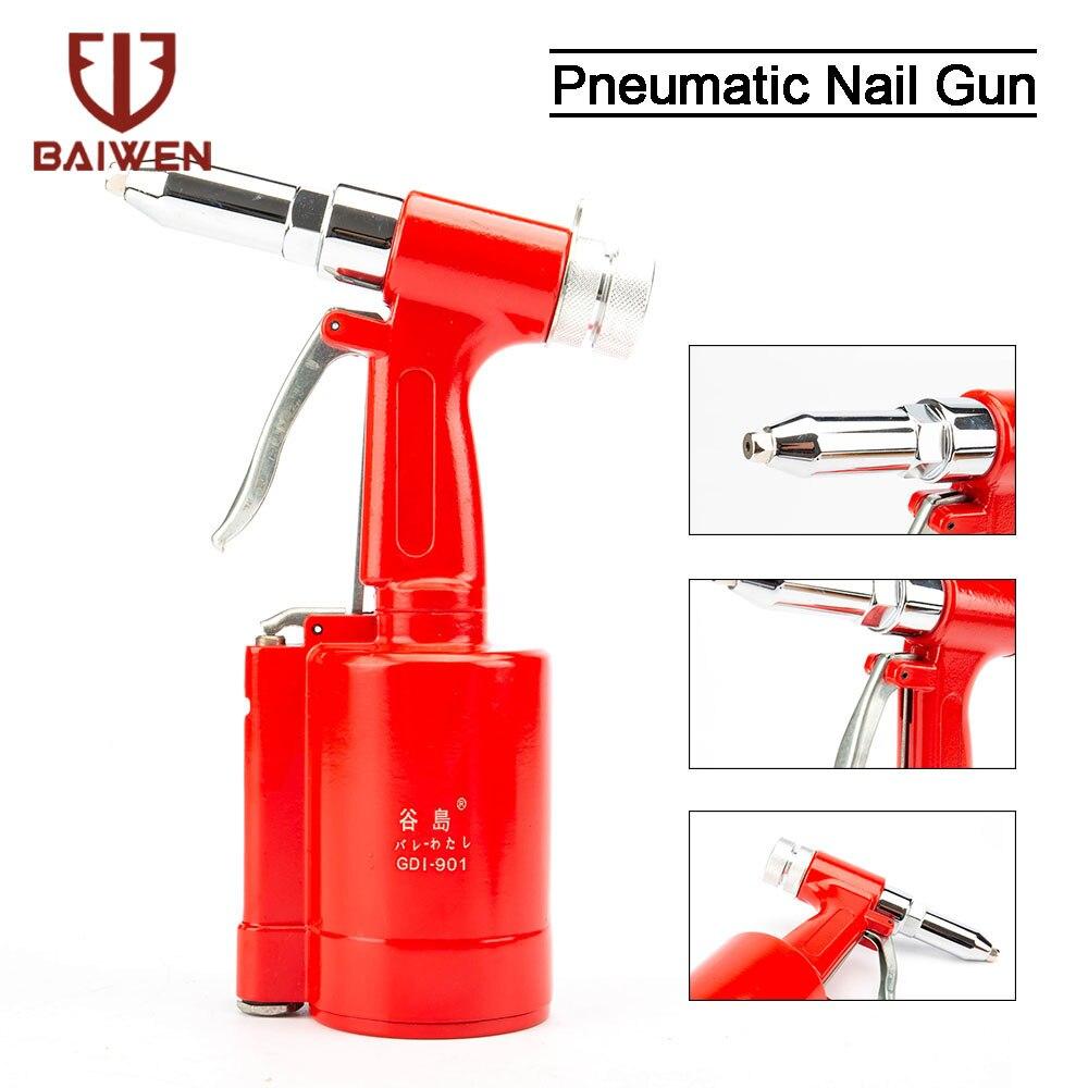 Industrial Air Riveter Pneumatic Hydraulic Pop Rivet Gun 3/16