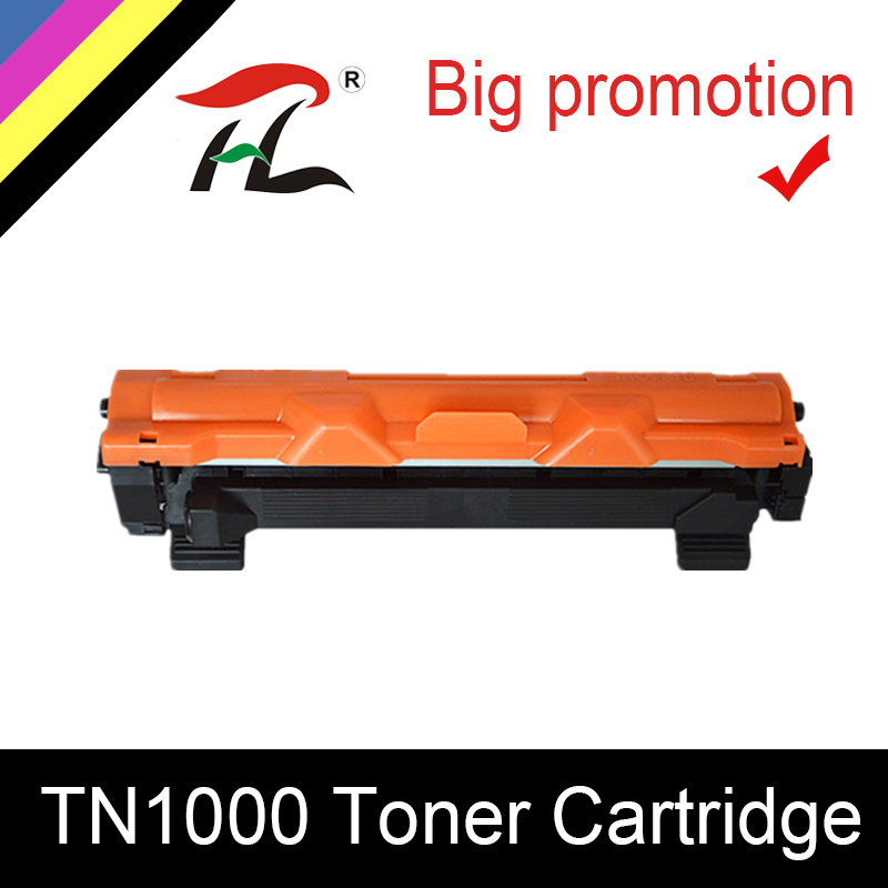 HTL TN1000 Toner Cartridge Compatible For Brother TN1030 TN1050 TN1060 TN1070 TN1075 HL-1110 1210 MFC-1810 DCP-1510 1610W