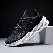 Новинка 2020 мужская обувь дышащие спортивные туфли большого