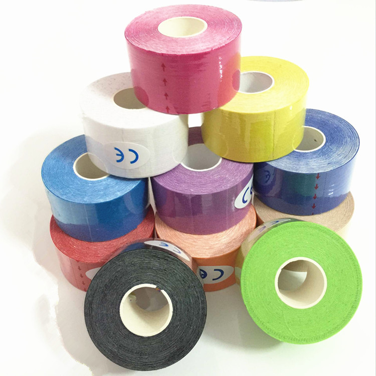 Export Elastic Sports Bandage Muscle Paste Kinesio Taping Adhesive Tape Kinesio Taping Kinesiology Tape's