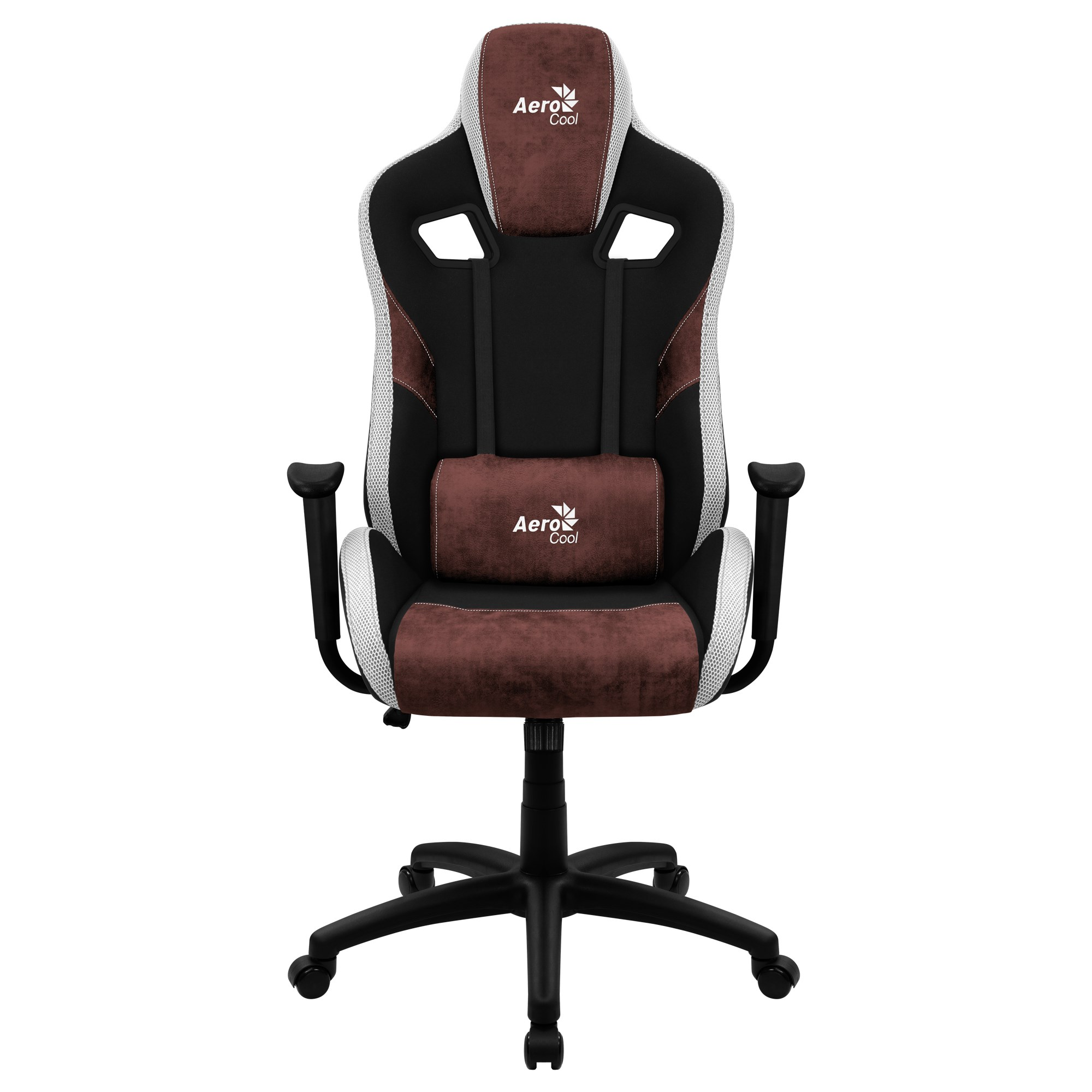Aerocool COUNT, Gaming Chair, AeroSuede Breathable, Backstop Adjustable, Red
