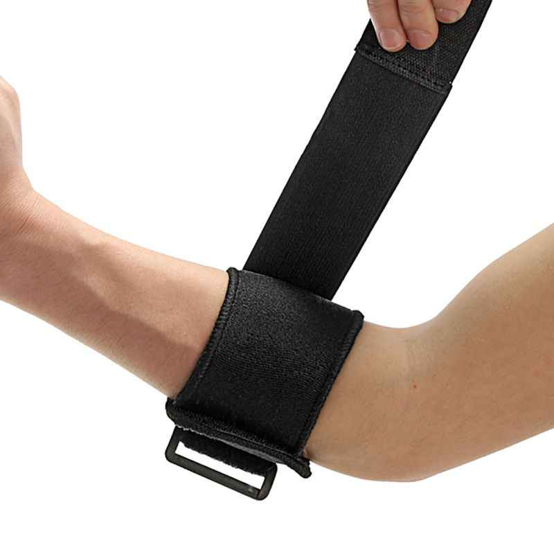DB27 Adjustable Elbow Support Wrap Tennis Brace Strap Sports Exercise Gym