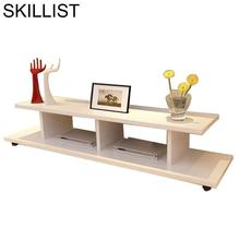 Center Meja Ecran Plat Standaard Lift Kast Modern De Shabby Chic Wood Table Living Room Furniture Mueble Monitor TV Stand