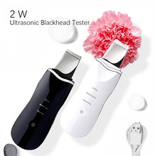 Ultrasonic Face Cleaning Skin Scrubber Peeling Facial Cleaner Skin Blackhead Removal Pore Cleaner Face Beauty Instrument Device ultrasonic face skin cleaner device usb rechargeable blackhead removal peeling shovel machine face exfoliator pore skin clean