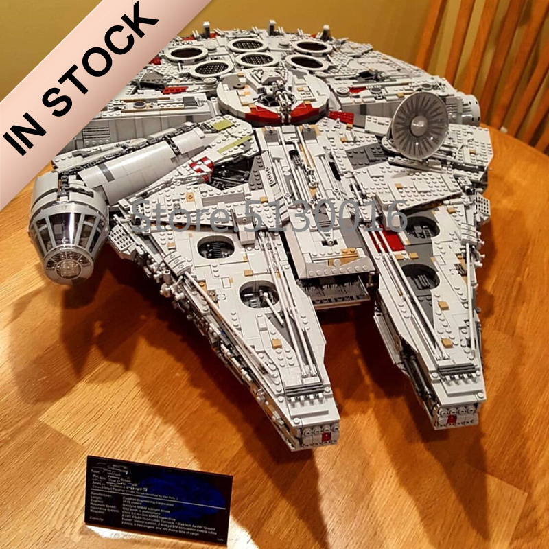 In Stock 05132 The Millennium Ultimate Collector's Destroyer 75192 8445Pcs Star Model Wars Building Blocks Bricks Toys