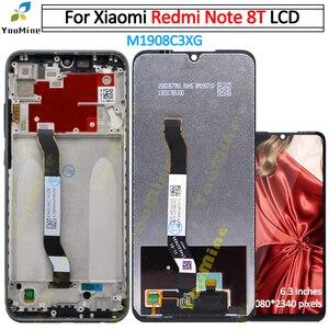 Image 1 - Dành Cho Xiaomi Redmi Note 8 T Màn Hình Hiển Thị Lcd Bộ Số Hóa Màn Hình Cảm Ứng M1908C3XG Hội Linh Kiện Thay Thế Cho Redmi Note8T Note 8 T Màn Hình Lcd