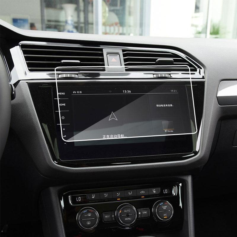 Закаленное стекло для защиты экрана Volkswagen Tiguan/VW Tiguan II GTE Allspace Discover Pro 9,2 дюймовый экран для навигации автомобиля