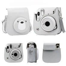 حقيبة كاميرا Fujifilm Instax mini11 ، حقيبة كاميرا ريترو ، حقيبة حمل ، ملحقات
