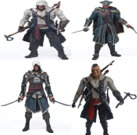 15cm Creed Series 4 Connor Haytham Edward Kenway Mohawk PVC Action Figure Model Toys Gift
