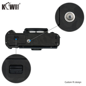 Image 4 - KIWI Anti Scratch กล้องฝาครอบผิวสำหรับ Fujifilm X T30 Fuji XT30 กล้องฟิล์มสไลด์ 3M สติกเกอร์เงาสีดำ