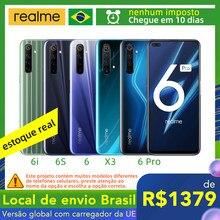Local de envio: Brasil!-realme 6 pro 8gb 128gb/realme 6 / realme 6s / realme 6i / realme x3 superzoom opcional mais rápido e mais seguro