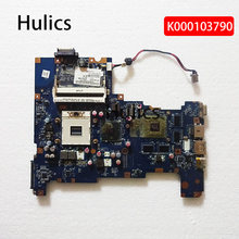 Hulics original k000103790 placa mãe do portátil para toshiba satellite l670 l675 LA-6042P placa principal ddr3