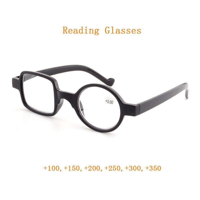 Модные Нерегулярные очки для чтения лупа для женщин и мужчин круглые квадратные пресбиопические очки звездный стиль очки для зрения + 1,0 ~ + 3