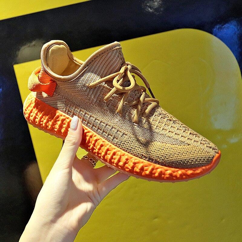 Shoe Sneakers Running-Shoes Platform Walking Sports Women New Wave Mujer T99 Zapatos