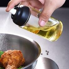 Бутылка с распылителем масла герметичный диспенсер для масла оливковый распылитель уксуса чайник для приправ кухонные инструменты для барбекю