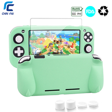 CHINFAI TPU Soft Case for Nintend Switch Lite Ergonomic Non slip Silicone Protective Stand Case for NS Switch Lite mini Console