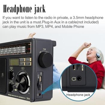 Радиоприемник RETEKESS TR618 AM/FM/SW MP3 TF/SD-Card 4