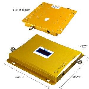 Image 2 - を lintratek 3 グラム wcdma 2100 mhz gsm 900 1800mhz のデュアルバンド増幅器携帯電話の信号ブースター gsm 信号リピータ 3 グラム 4 グラムアンテナ + ケーブル