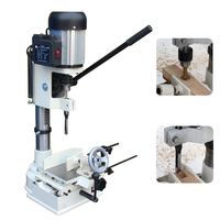 Wood Jig 750W Woodworking Tenon Machine Drilling Tool Wood Hole Opener Machine Slotting Machine Carpentry Tool MK361A