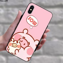 Mutouniao The Panda 1 Soft TPU Case Cover For iPhone 5 5S SE 6 7 8 11 Pro X XS XR Max Plus(China)