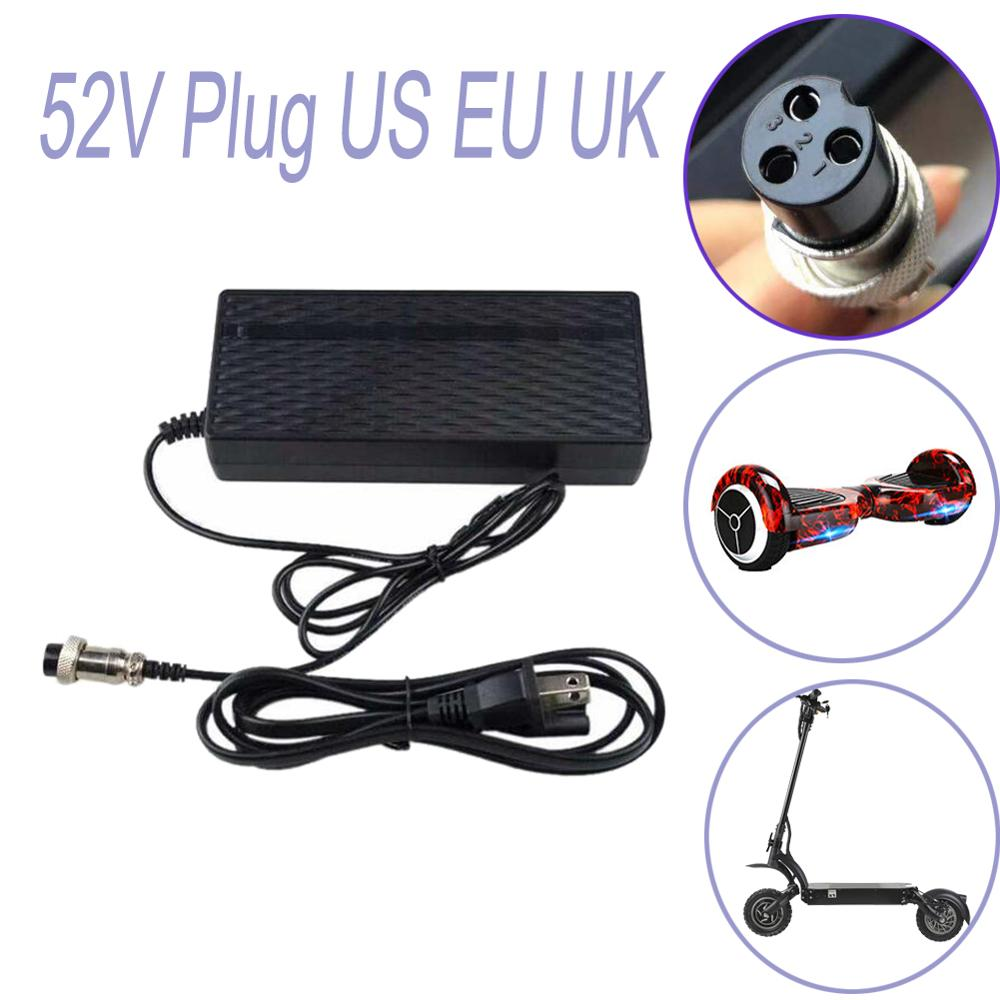 Electric Scooter Charger 52V Plug US EU UK