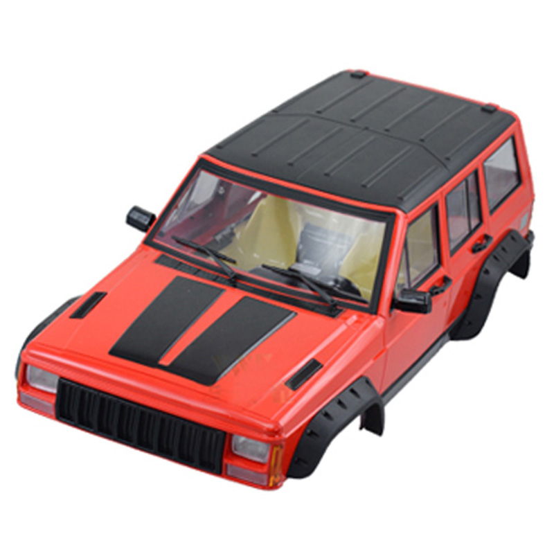 Painted Hard Plastic 313mm Wheelbase Body Car Shell for 1/10 RC Crawler Axial SCX10 and SCX10 II 90046 90047