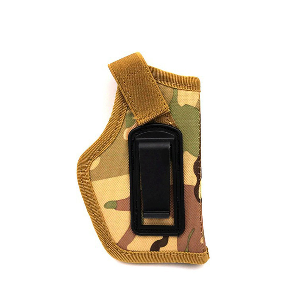Tactical Gun Concealed Belt Holster Ambidextrous Holster Carry Holsters Belt Metal Clip For Compact Subcompact Pistols Fashion