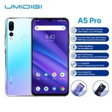 Global Version UMIDIGI A5 PRO Android 9.0 Octa Core 6.3'' FHD+ Waterdrop 16MP Triple Camera 4150mAh