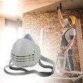 Респиратор моющийся многоразовый защитный для велоспорта PM2.5 Мягкая силиконовая маска для лица для бега против дымки Сменный фильтр для ул...