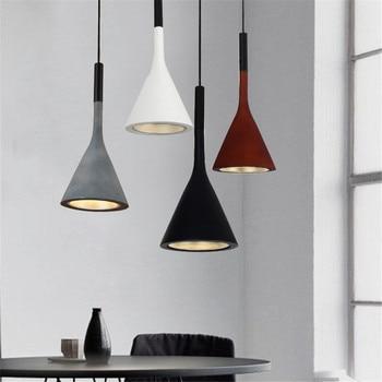 Modern pendant light LOFT vintage indoor lamp LED lighting Restaurant office bar ceiling decoration light fixture AC110-265V
