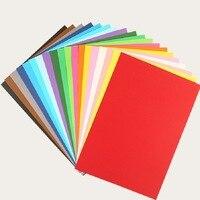 8 Open Color Card Paper Color 8 Open Card Paper 100 Pieces Handmade Card Paper Children Card Paper