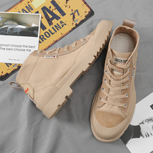 Big Size winter shoes *K0903 High Quality Cow Suede Boots Men Italian Brand Ankle Fashion Leather Dress Shoes