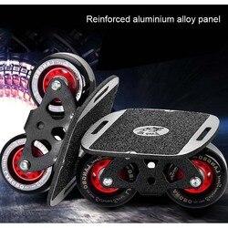 Drift Bord platte Erwachsenen Tragbare Skateboard Driftboard Anti-skid Skate bord Sport Für Freeline Roller Road drift bord