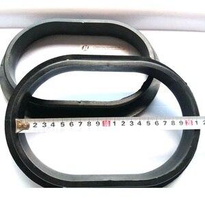 Image 2 - 2 pezzi sabbia sabbiatura guanto titolari, titolare Guanto per sabbiatura cabinet 260x180mm