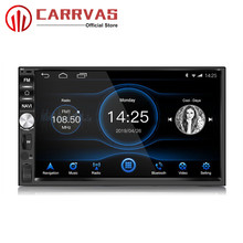 CARRVAS 2 Din Android 8.1 Head Unit 2G RAM 32G ROM Android GPS Navigation Car Stereo 1080P Autoradio Quad Core Audio Radio RDS цена